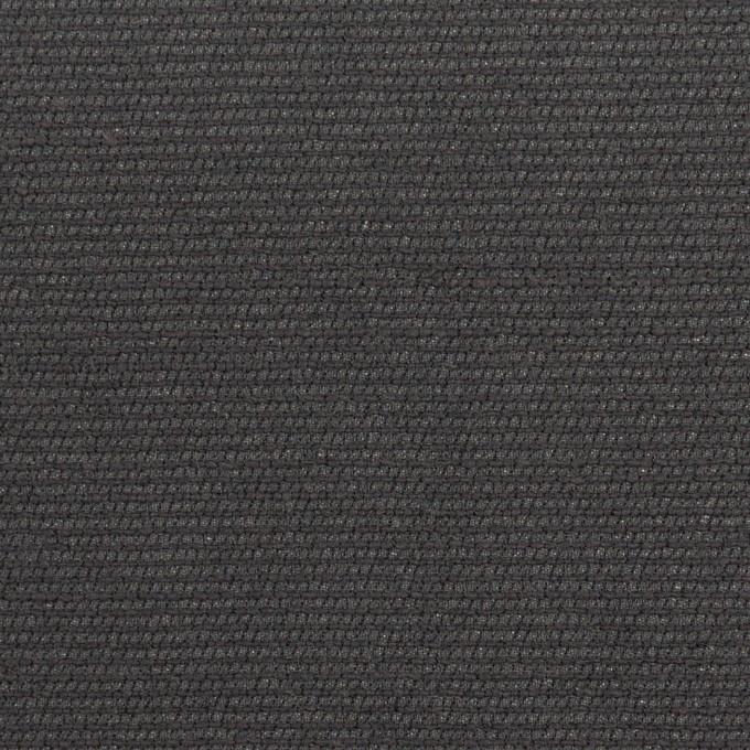 シルク&レーヨン混×無地(チャコール)×オーガンジー・ジャガード イメージ1