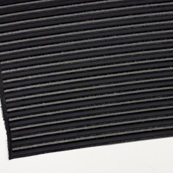 ポリエステル×ボーダー(ブラック)×ジョーゼット・カットジャガード サムネイル2