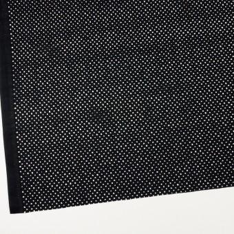 コットン×サークル(ブラック)×ローン刺繍 サムネイル2