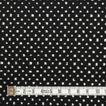 コットン×サークル(ブラック)×ローン刺繍 サムネイル4