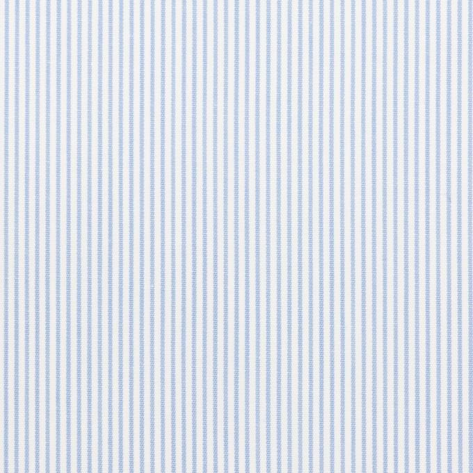 コットン×ストライプ(サックス)×ブロード イメージ1