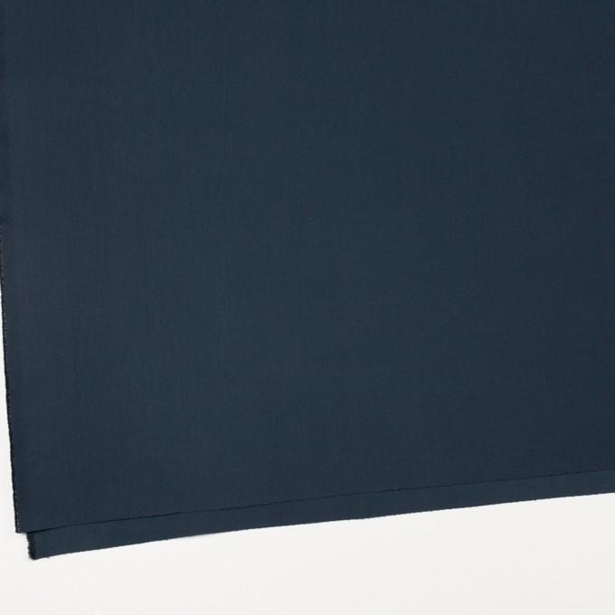 コットン×無地(アッシュネイビー)×二重織_イタリア製 イメージ2