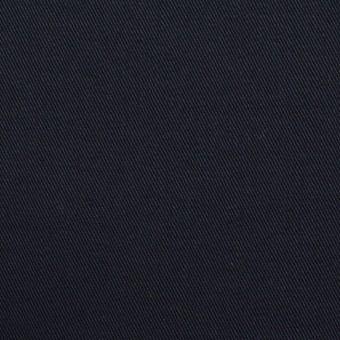 コットン&ポリウレタン×無地(ダークネイビー)×チノクロス・ストレッチ