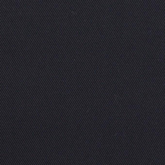 コットン×無地(ダークネイビー)×ギャバジン イメージ1