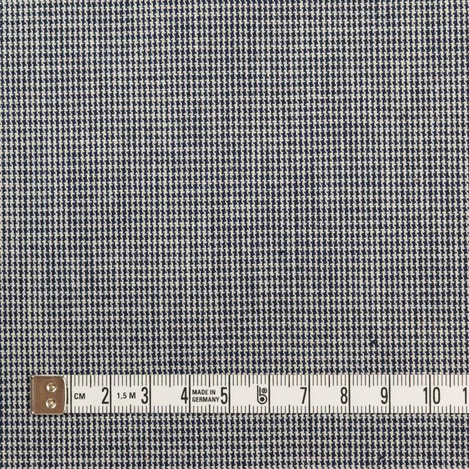 コットン×チェック(ネイビー)×千鳥格子 イメージ4
