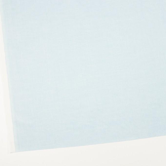 コットン×無地(ペールブルー)×ローン_イタリア製 イメージ2