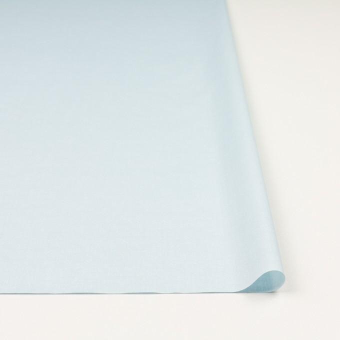 コットン×無地(ペールブルー)×ローン_イタリア製 イメージ3