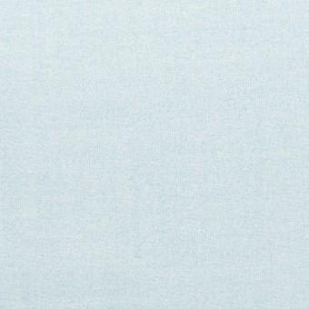 コットン×無地(ペールブルー)×ローン_イタリア製