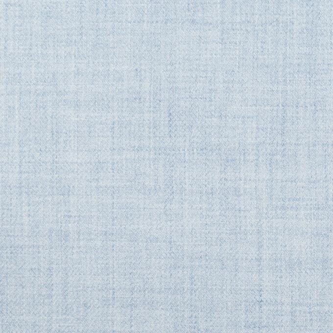 コットン×無地(グレイッシュブルー)×ビエラ_イタリア製 イメージ1
