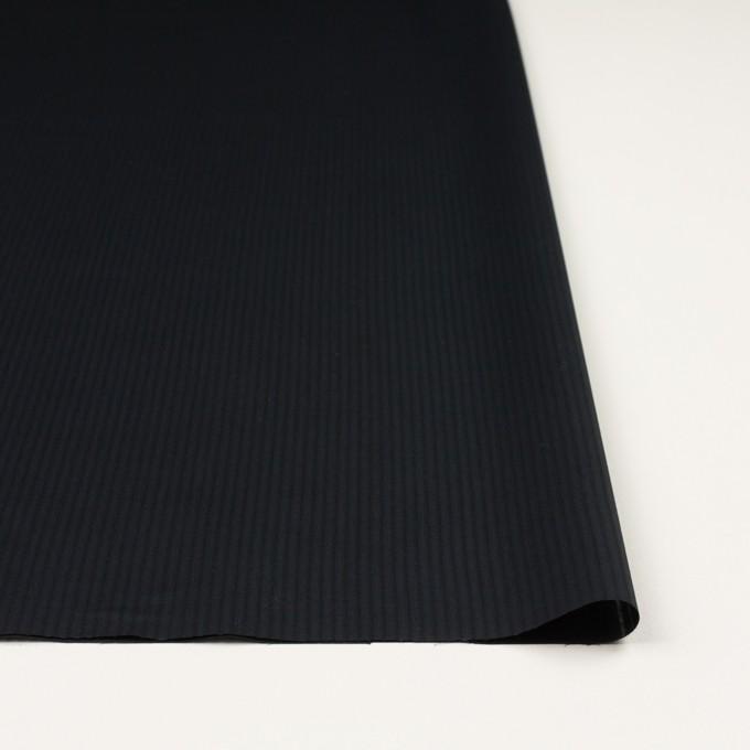 コットン×ストライプ(ブラック)×ブロード_全2色 イメージ3