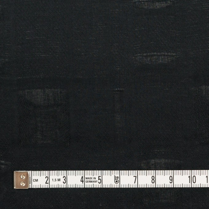 コットン×チェック(ブラック)×二重織ジャガード イメージ4