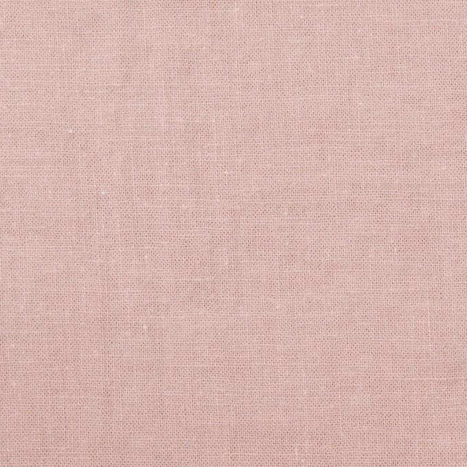 リネン&コットン×無地(グレイッシュピンク)×シーチング_全36色 イメージ1