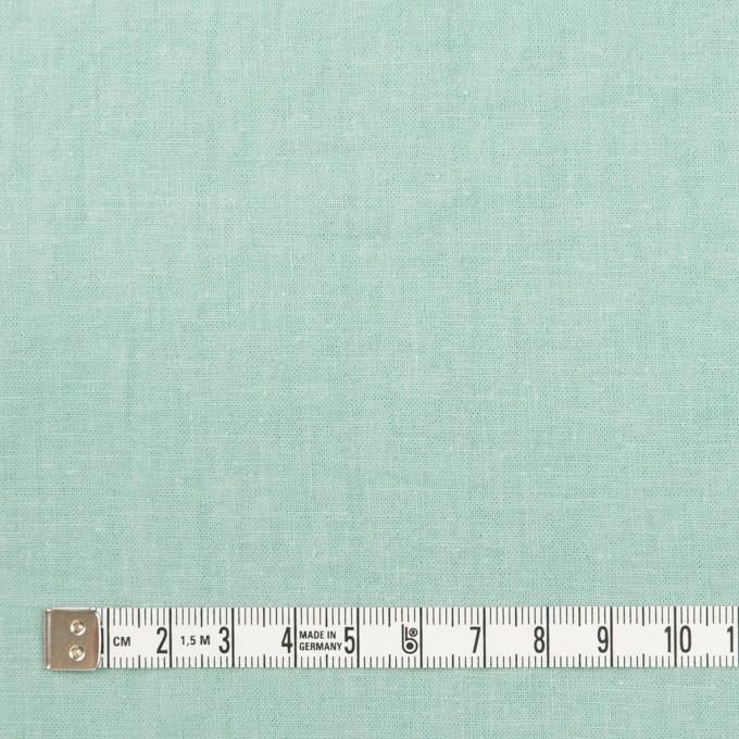 リネン&コットン×無地(ミント)×シーチング_全36色 イメージ4