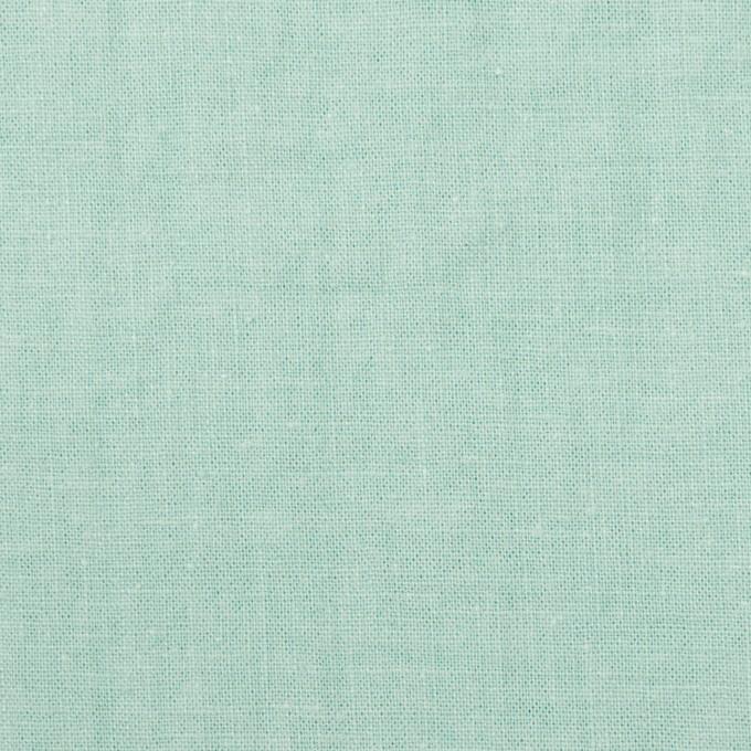 リネン&コットン×無地(ミント)×シーチング_全36色 イメージ1