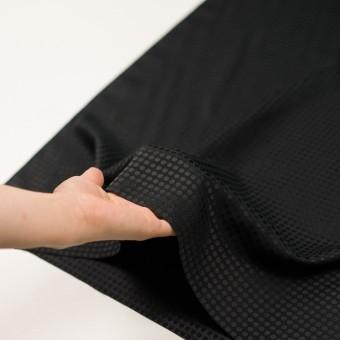 コットン&シルク×水玉(ブラック)×サテンジャガード サムネイル5
