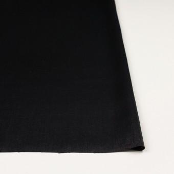 コットン&ポリエステル×無地(ブラック)×サージ サムネイル3
