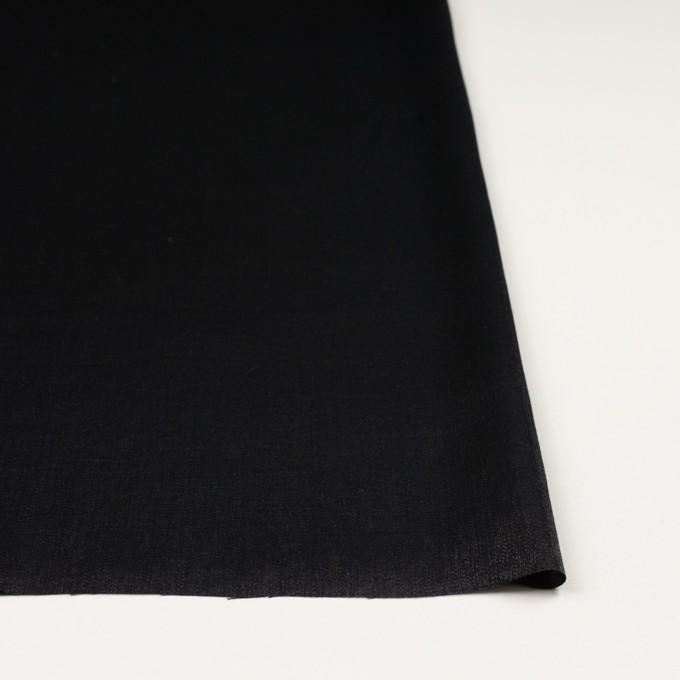 コットン&ポリエステル×無地(ブラック)×サージ イメージ3