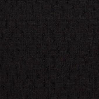 ウール×無地(ブラック)×ボイルジャガード サムネイル1
