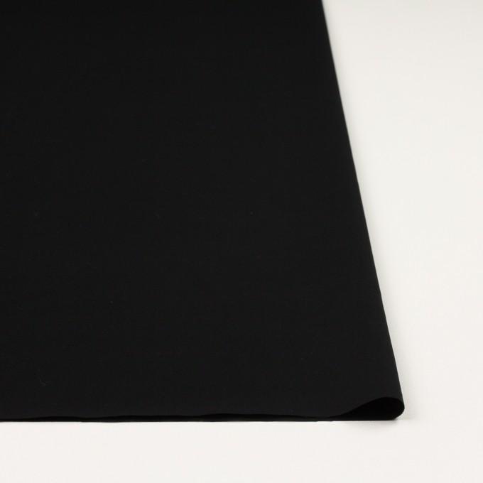 コットン×無地(ブラック)×サージ イメージ3