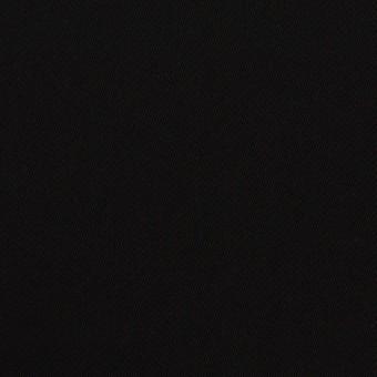 コットン×無地(ブラック)×サージ