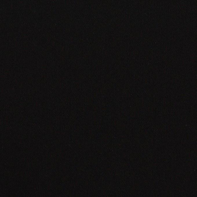 コットン×無地(ブラック)×サージ イメージ1