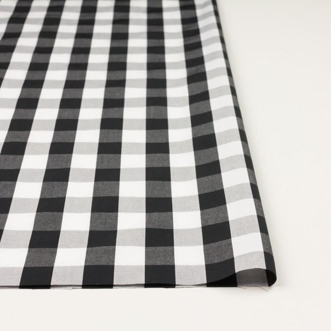 コットン×チェック(ブラック)×ブロード イメージ3