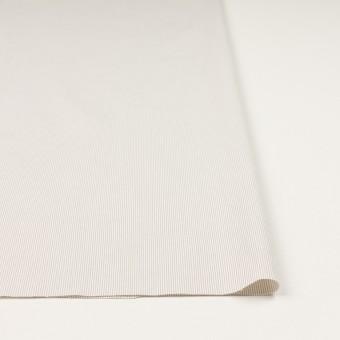 コットン&ポリエステル混×ストライプ(ベージュグレー)×コードレーン・ストレッチ_全3色 サムネイル3