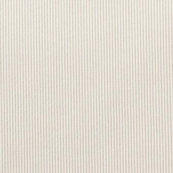 コットン&ポリエステル混×ストライプ(ベージュグレー)×コードレーン・ストレッチ_全3色 サムネイル1