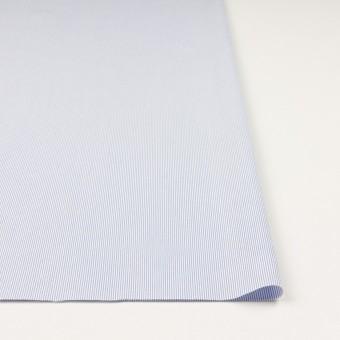 コットン&ポリエステル混×ストライプ(ブルー)×コードレーン・ストレッチ_全3色 サムネイル3