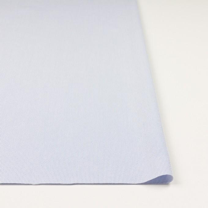 コットン&ポリエステル混×ストライプ(ブルー)×コードレーン・ストレッチ_全3色 イメージ3