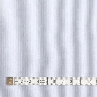 コットン&ポリエステル混×ストライプ(ブルー)×コードレーン・ストレッチ_全3色 サムネイル4
