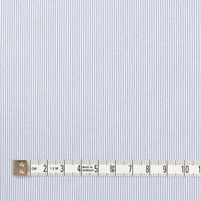 コットン&ポリエステル混×ストライプ(ブルー)×コードレーン・ストレッチ_全3色 イメージ4