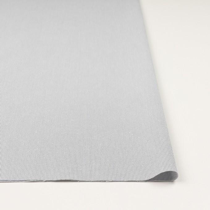 コットン&ポリエステル混×ストライプ(ネイビー)×コードレーン・ストレッチ_全3色 イメージ3