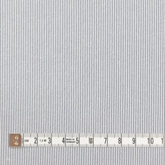 コットン&ポリエステル混×ストライプ(ネイビー)×コードレーン・ストレッチ_全3色 サムネイル4