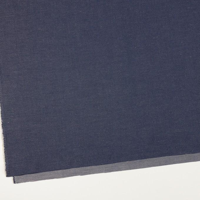 コットン&リネン×無地(ネイビー)×かわり織 イメージ2