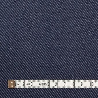 コットン&リネン×無地(ネイビー)×かわり織 サムネイル4