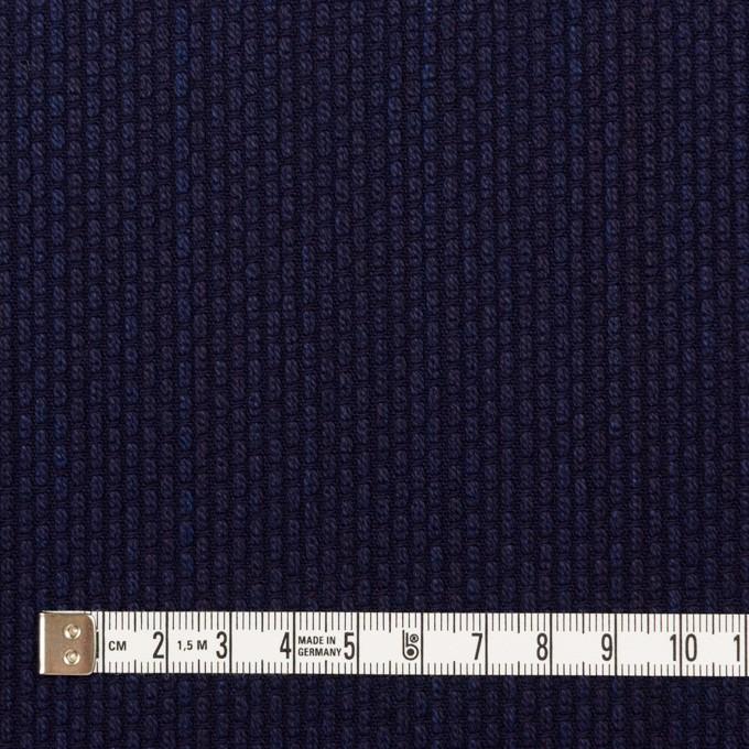 コットン×無地(インディゴ)×刺し子 イメージ4