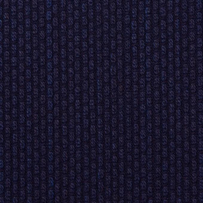 コットン×無地(インディゴ)×刺し子 イメージ1