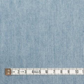 コットン×無地(サックスブルー)×セルビッチ・デニム(5.5oz) サムネイル4