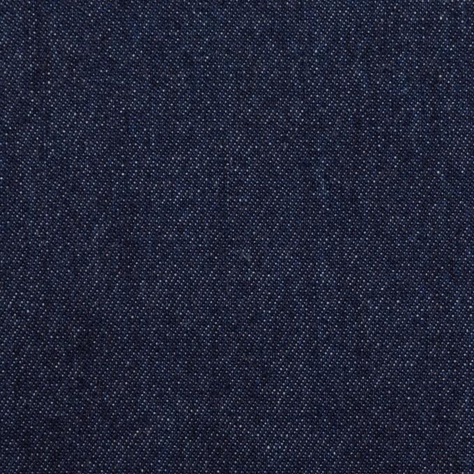 コットン×無地(インディゴ)×セルビッチ・デニム(6oz) イメージ1