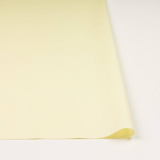 コットン×無地(レモンイエロー)×ローンシャンブレー_全7色 イメージ3