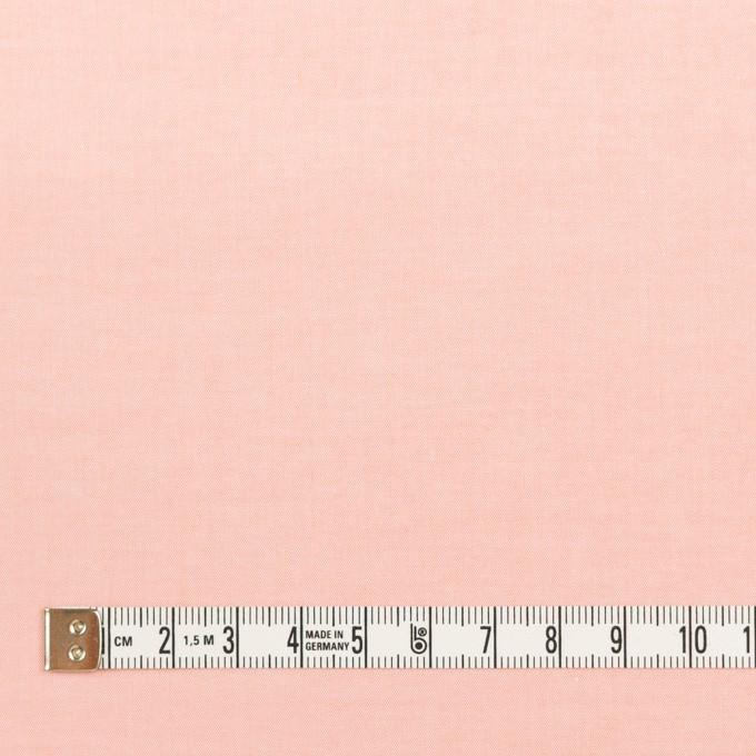 コットン×無地(ピーチ)×シャンブレー・ローン_全7色 イメージ4