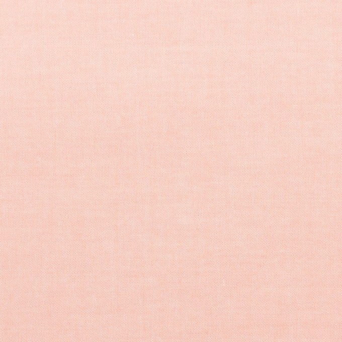 コットン×無地(ピーチ)×ローンシャンブレー_全7色 イメージ1