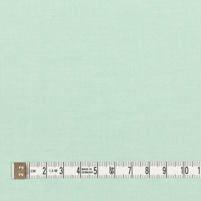 コットン×無地(ミントグリーン)×ローンシャンブレー_全7色 イメージ4
