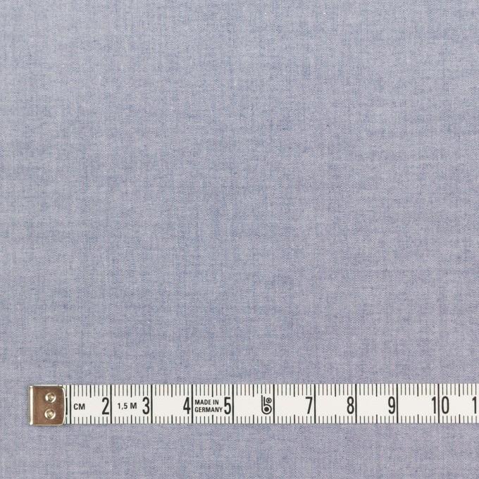 コットン×無地(アッシュネイビー)×シャンブレー・ローン_全7色 イメージ4