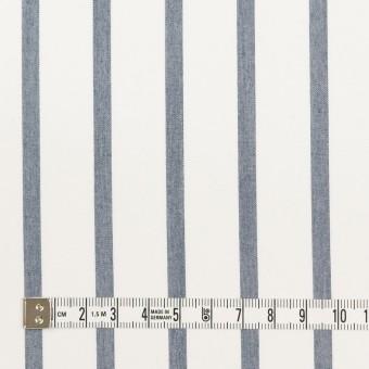 ナイロン&コットン×ストライプ(ネイビー)×ブロード_全3色 サムネイル4