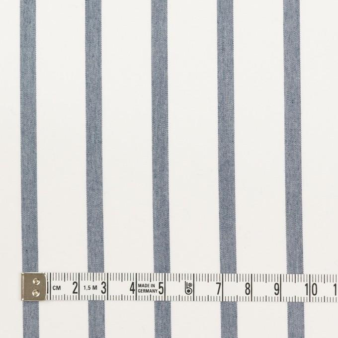 ナイロン&コットン×ストライプ(ネイビー)×ブロード_全3色 イメージ4