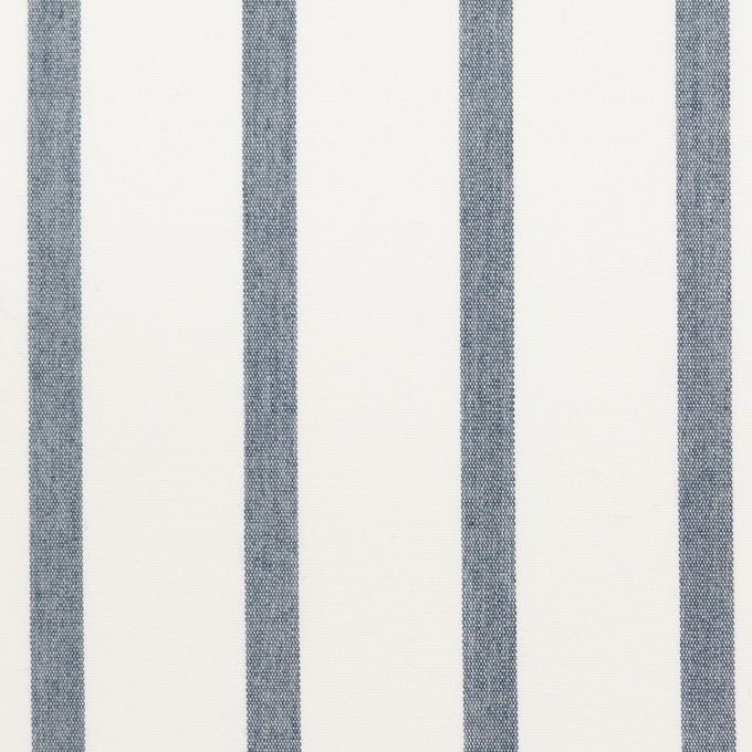 ナイロン&コットン×ストライプ(ネイビー)×ブロード_全3色 イメージ1