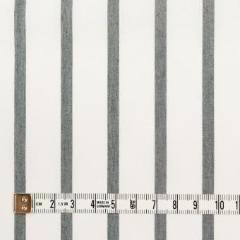 ナイロン&コットン×ストライプ(チャコール)×ブロード_全3色 サムネイル4