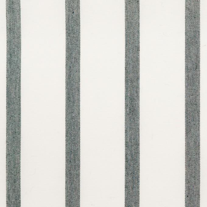 ナイロン&コットン×ストライプ(チャコール)×ブロード_全3色 イメージ1
